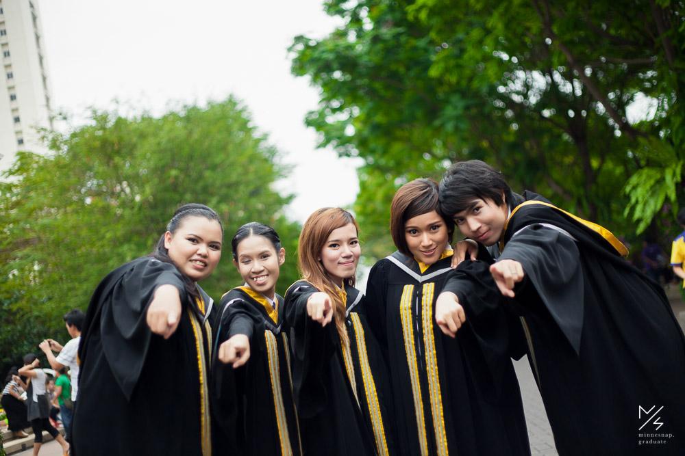 รับปริญญามหาวิทยาลัยธุรกิจบัณฑิตย์ น้องพลัส Dhurakij Pundit