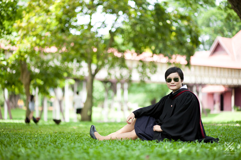silpakorn university graduation ging 14