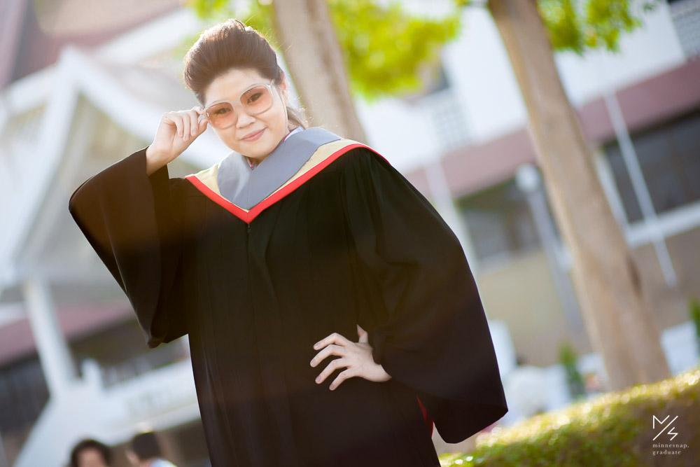 รับปริญญา มศว น้องแพร์ มหาวิทยาลัยศรีนครินทรวิโรฒ