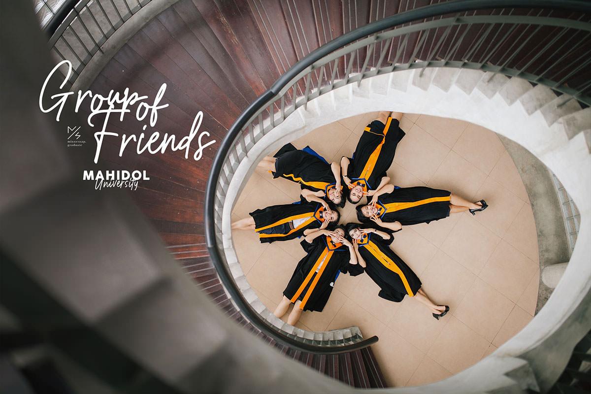 resize mahidol university graduate friends group portrait cover