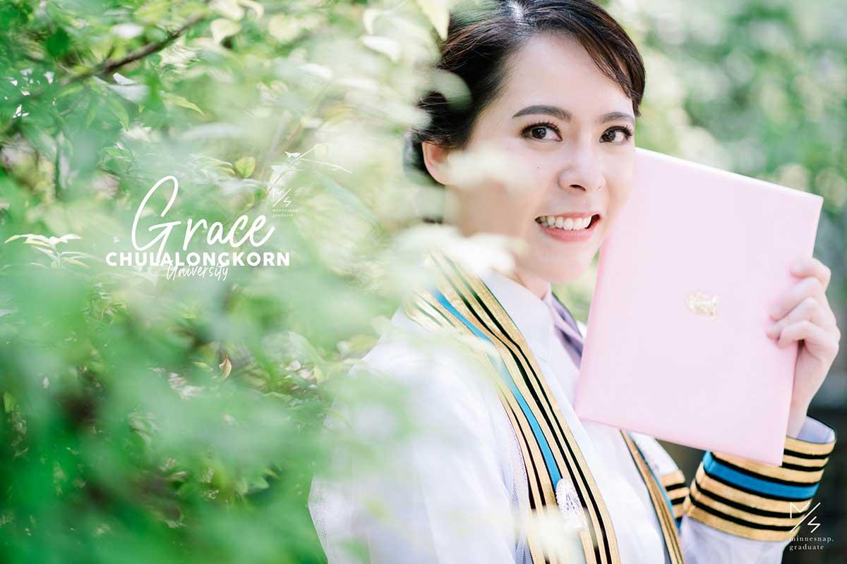 minnesnap graduate chulalongkorn university grace cover