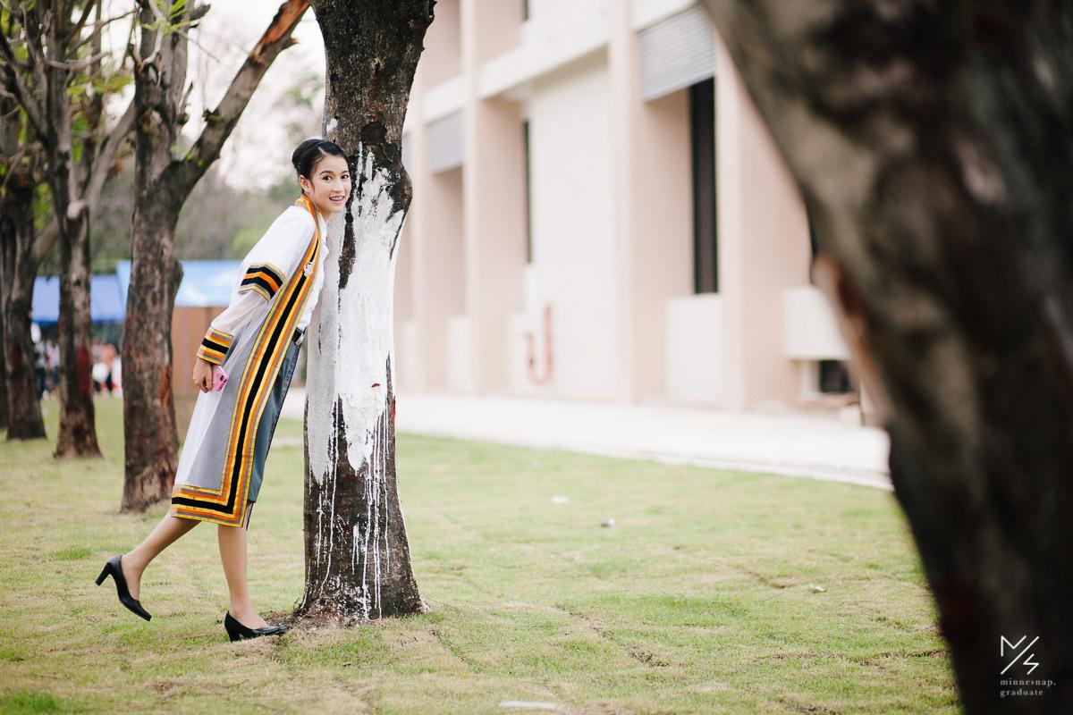 รับปริญญา มอนอ มหาวิทยาลัยนเรศวร น้องเนม คณะวิทยาศาสตร์