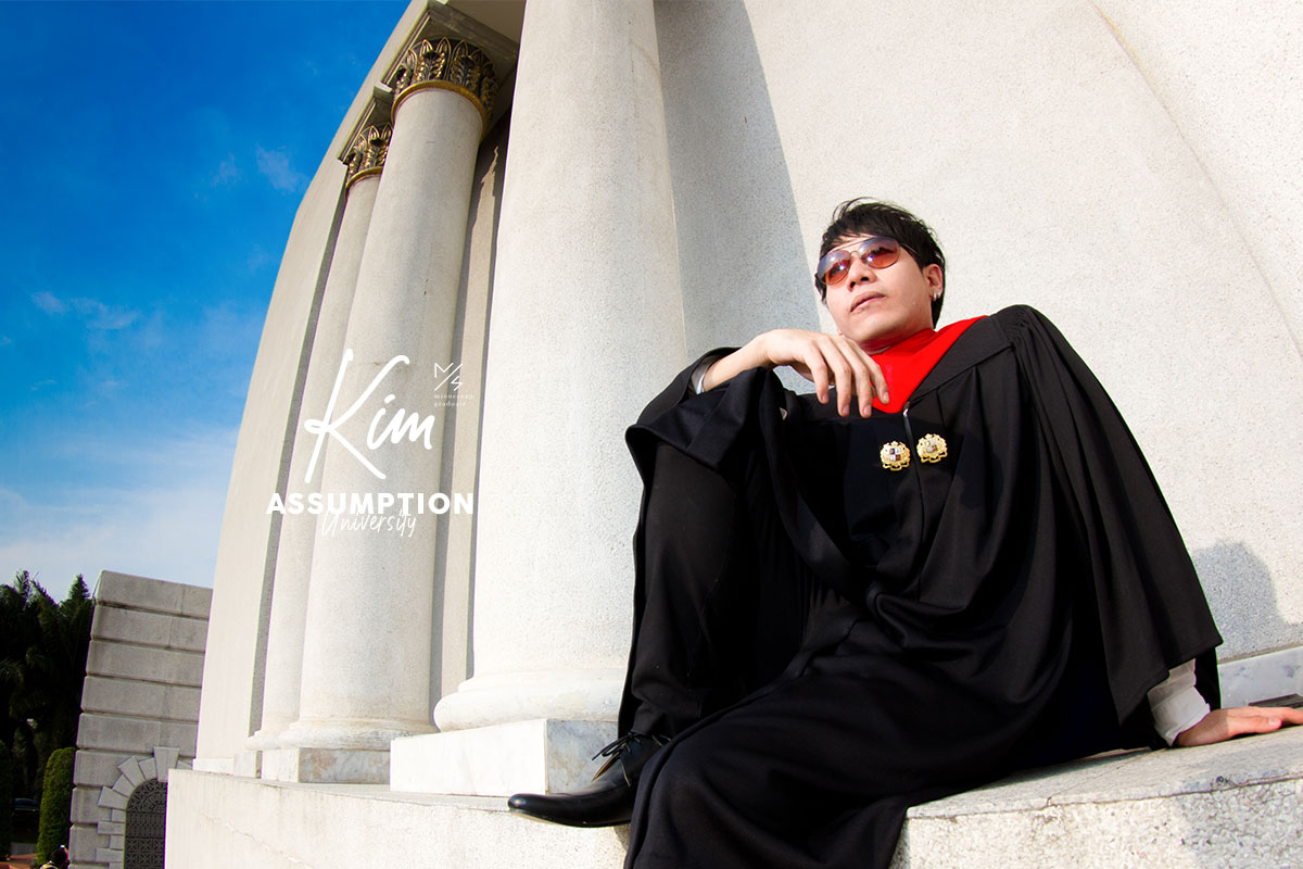 assumption university graduation kim cover