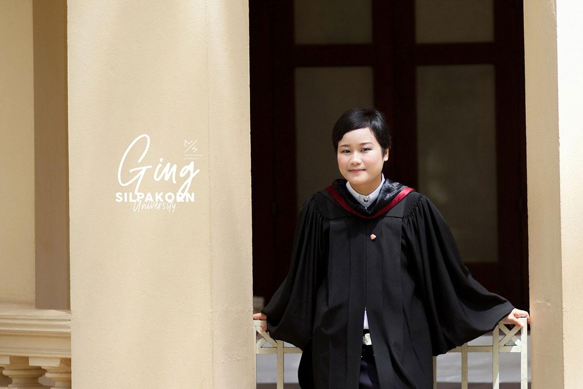 silpakorn university graduation ging cover