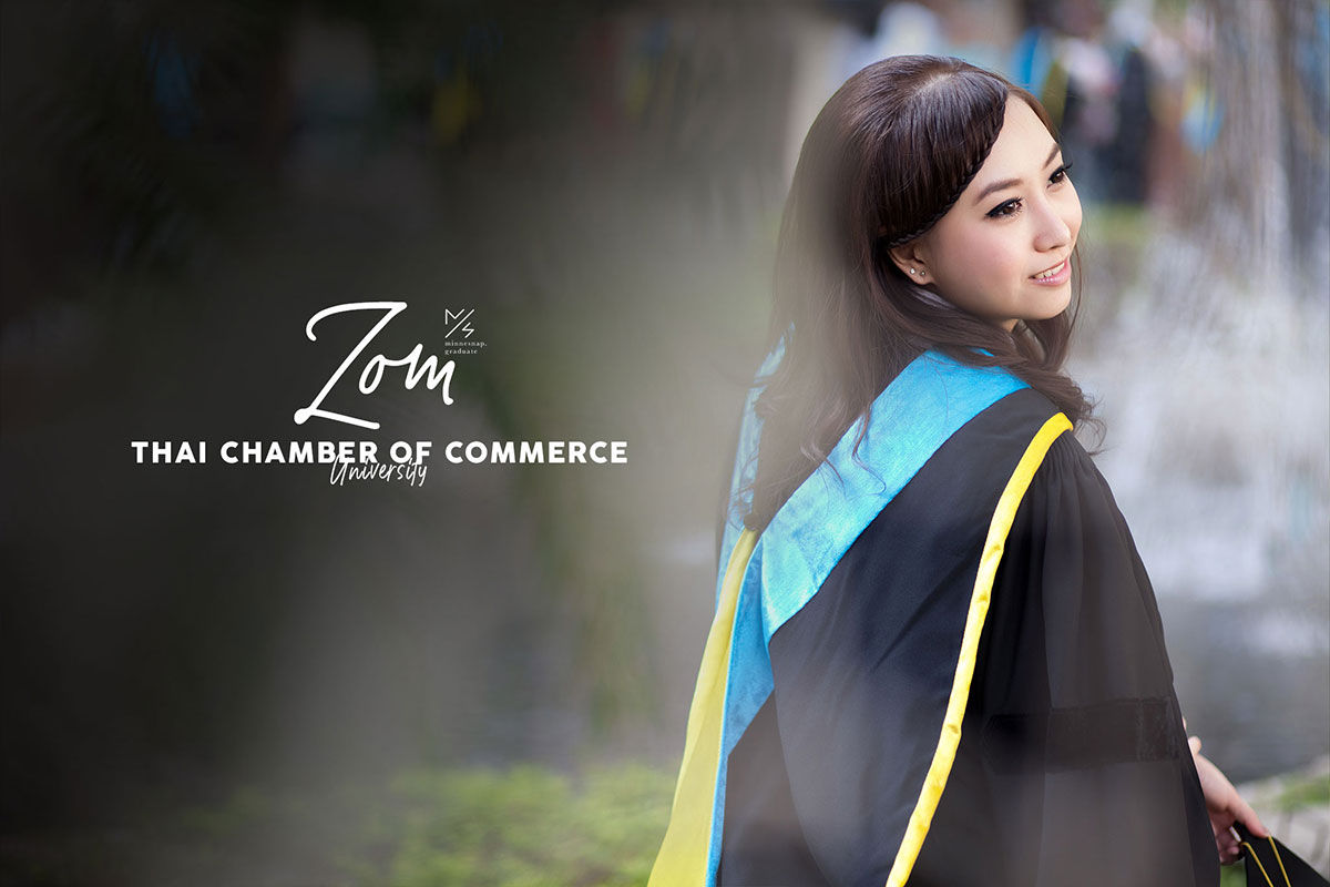 university of the thai chamber of commerce graduation cover