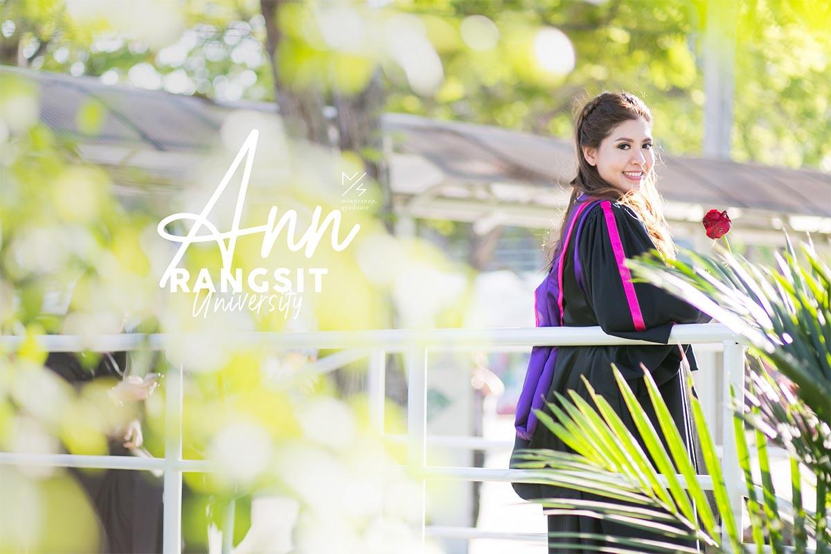 rangsit university graduation ann cover