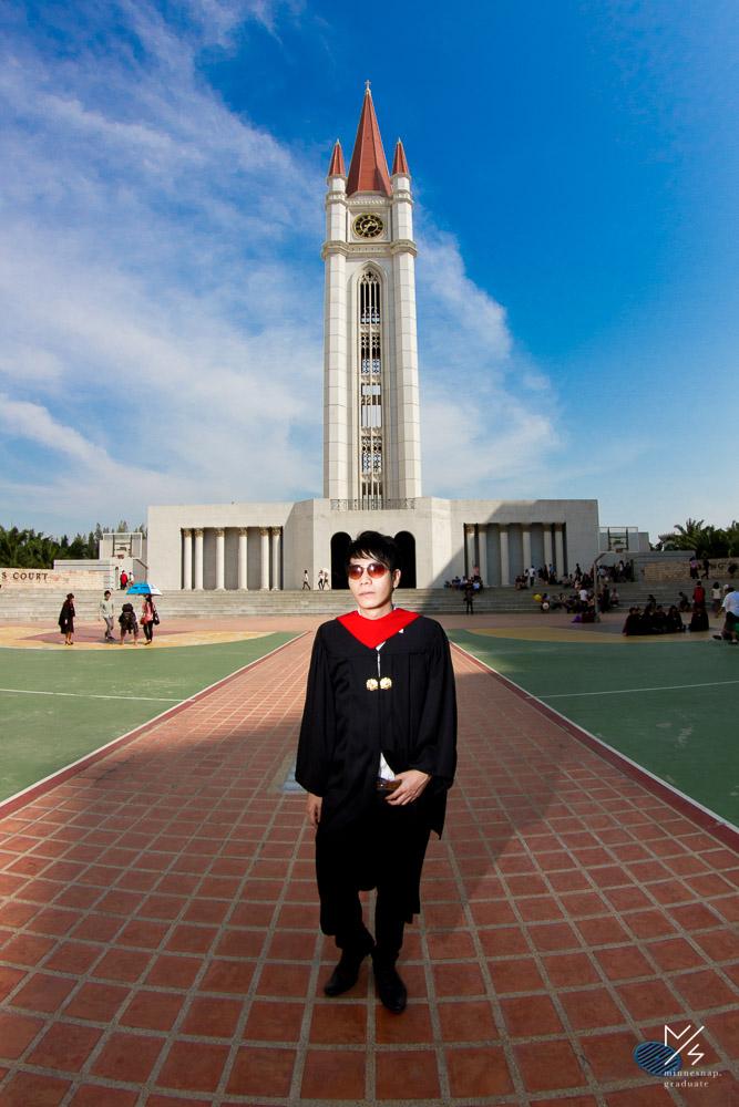 รับปริญญา เอแบค น้องคิม มหาวิทยาลัยอัสสัมชัญ