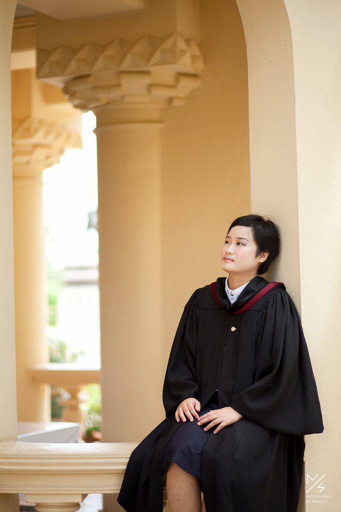 silpakorn university graduation ging 12