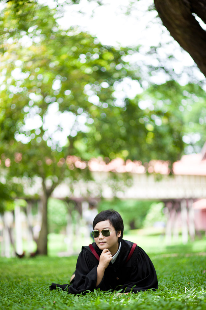 silpakorn university graduation ging 15
