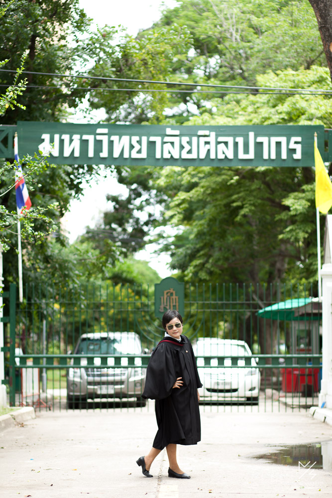 silpakorn university graduation ging 19