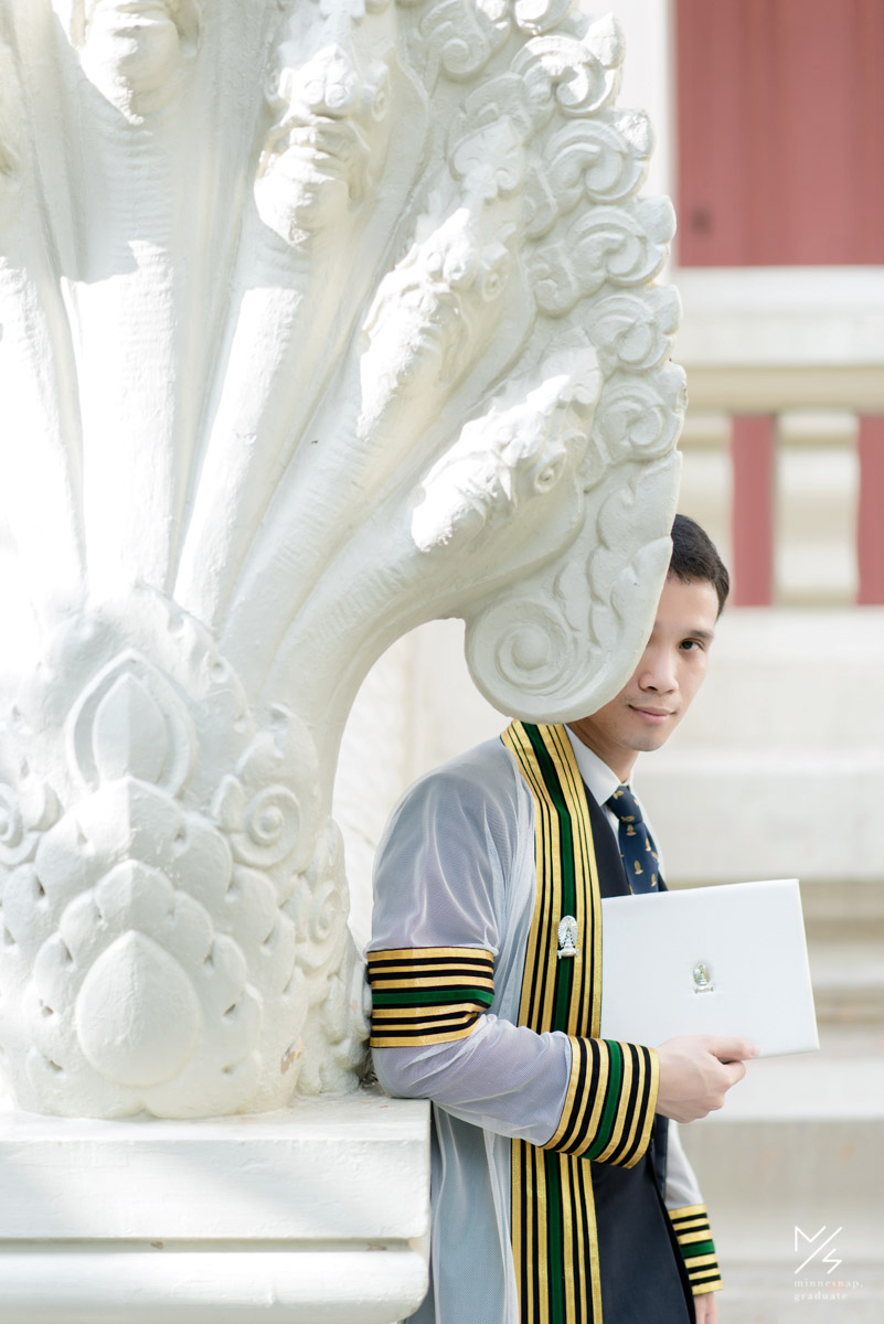 จุฬาลงกรณ์มหาวิทยาลัย ช่างภาพรับปริญญา หมอเติ้งบัณฑิตจุฬา